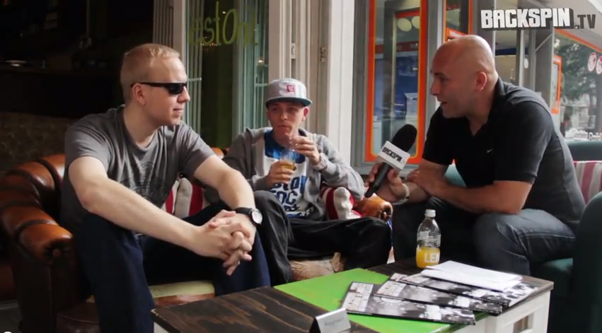 Laas Unltd. – Interview bei Backspin TV