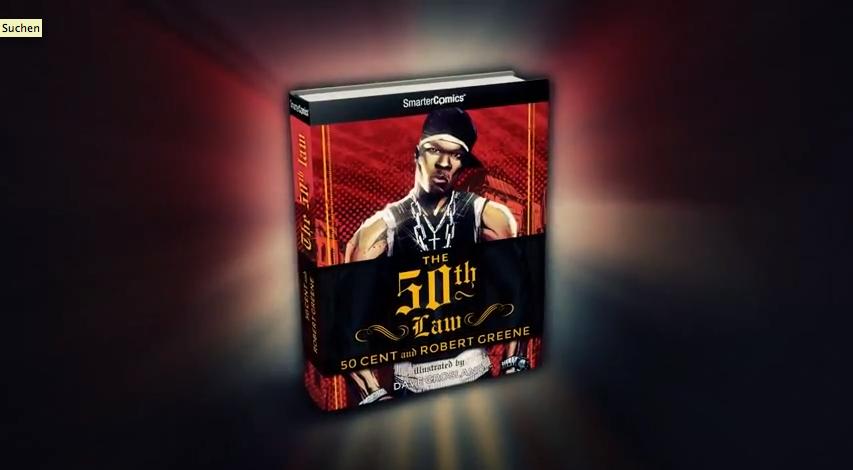 """50 Cent veröffentlicht mit Robert Greene ein Comic-Buch – """"The 50th Law"""""""