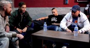 Celo & Abdi und Veysel bei der Hinterhofjargon-Tour im Interview (Video-Interview)