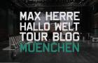 """Max Herre – """"Hallo Welt!"""" Tour Blog 1 in München (Video)"""