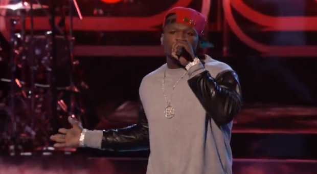 50 Cent feat Adam Levine - 'My Life'- Live @The Voice (Live-Video)