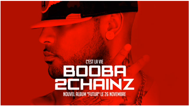 """Booba – """"C'est la vie feat 2 Chainz"""" (Audio)"""