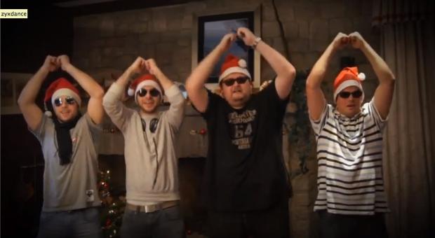 Dirrrty Franz & die B-Side Boyz - 'Stille Nacht' (Video)