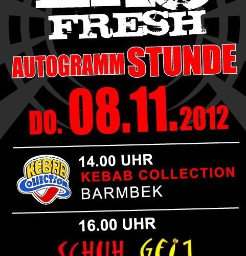 Autogrammstunde mit Eko Fresh in Hamburg (News)