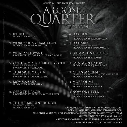 """Joe Budden veröffentlicht das Mixtape """"A Loose Quarter"""" (Audio + Free-Download)"""