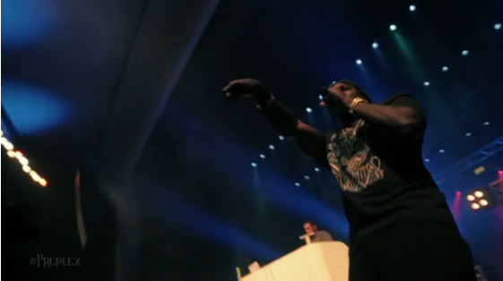 Kendrick Lamar, Pusha T & Kid Ink live in Florida (Video)