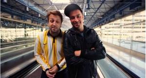 Marteria mit seinem Freund Paul Ripke in Madrid (Video)
