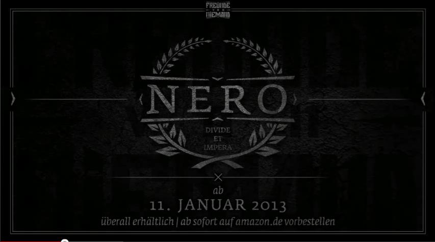 """Vega – """"Nero""""- Snippet (Audio)"""
