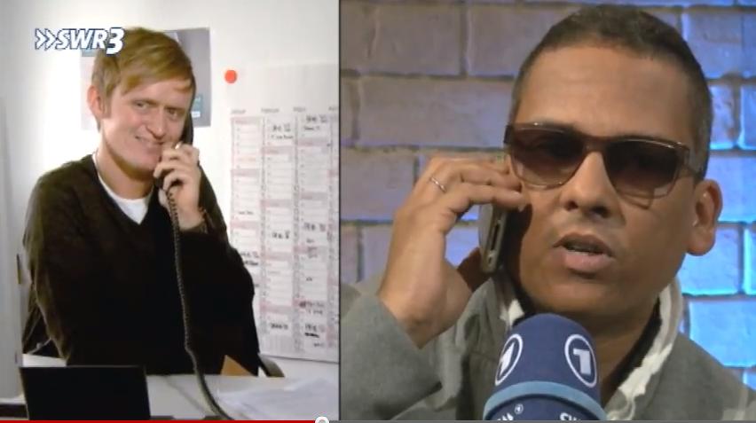 Pierre vom SWR3 telefoniert mit XAVAS (News)