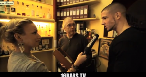 Silla mit Visa Vie von 16bars.tv im Whiskeyladen (Video-Interview)