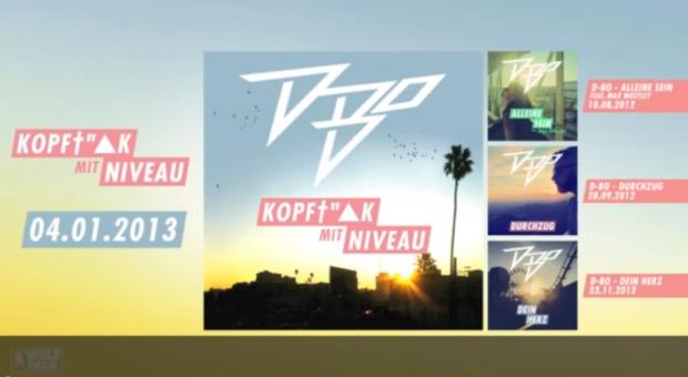D-Bo - 'Kopffick mit Niveau'- Album-Snippet Teil 1 + 2 (Audio)