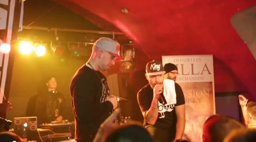 """Silla, MoTrip & Lonyen – """"Vergessen wie man lacht""""- Live in Trier (Live-Video)"""