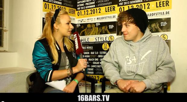 Mile Of Style 2012: 3Plusss wird von Visa Vie interviewt - 16bars.tv (Video-Interview)