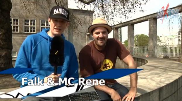 MixeryRawDeluxe-Interview: Falk interviewt MC Rene (Video-Interview)