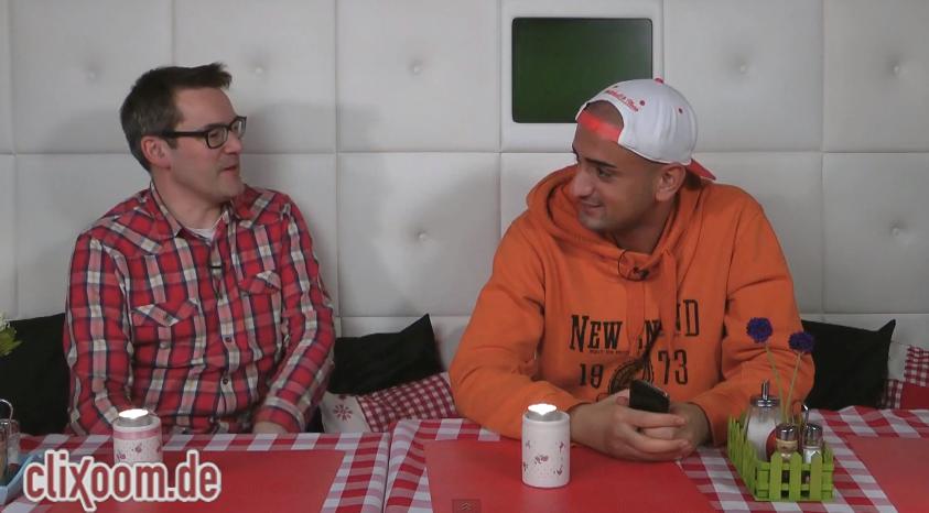 """3tes Clixoom-Interview mit Haftbefehl – """"Meine Texte haben Inhalt!""""- Kurztalk (Video-Interview)"""