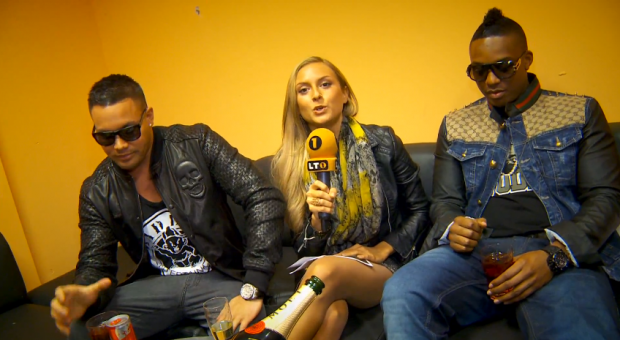 Kay One und Emory - Live im Lusthouse Haag   Kurzes Interview (Video-Interview + News)