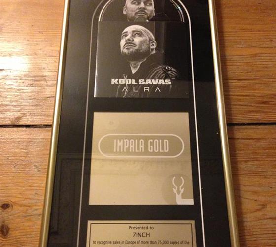 "Kool Savas geht mit seinem ""Aura""- Album Gold! (News)"