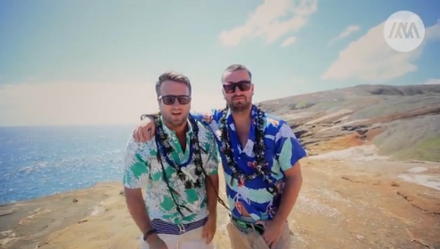 Marteria & Paul Ripke auf Hawaii (Video)