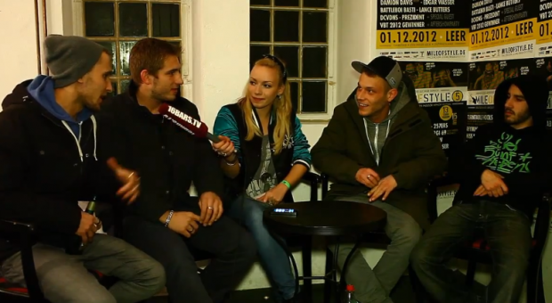 Visa Vie interviewt die 257ers auf dem 'Mile Of Style (MOS)'- Festival 2012 (Video-Interview)