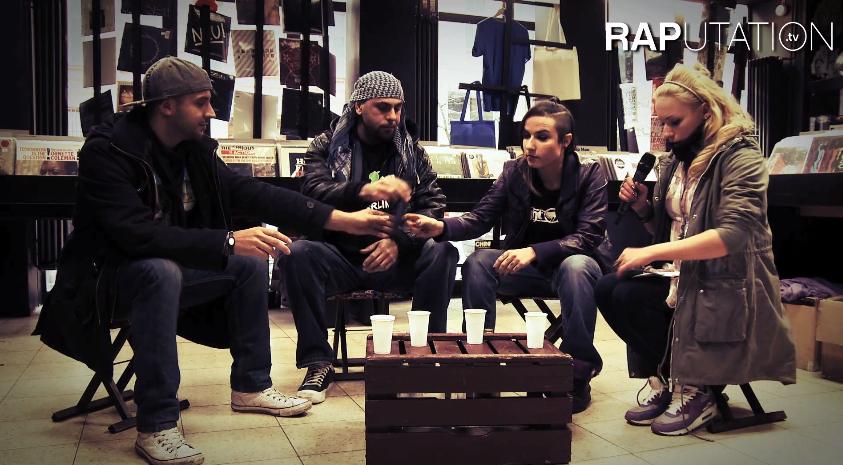 """Visa Vie mit Sookee, B-Lash und Ben Salomo: """"Frauen im RAP""""- Teil 1/2 (Video-Interview)"""