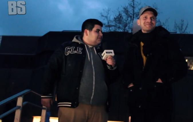 Backspin Tv- Interview mit Baba Saad | Nima & Baba Saad in Hamburg