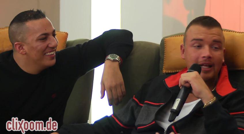 Kollegah & Farid Bang: Mein Oberarmumfang entspricht Sidos Beinumfang – Community-Video | Clixoom