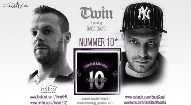 Twin feat. Baba Saad - 'Nummer 10'-Hiphop.de Exclusive