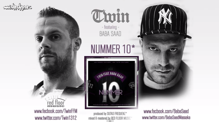 "Twin feat. Baba Saad – ""Nummer 10""-Hiphop.de Exclusive"