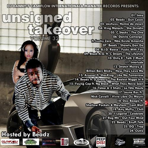 "Dj Danny-T – ""Unsigned Takeover Vol.32"""