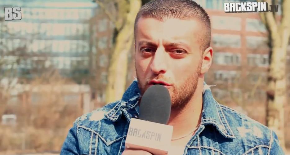 Backspin Tv-Interview mit Kc Rebell   Niko interviewt KC Rebell
