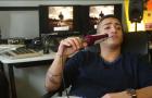 "16Bars.Tv zu Besuch bei Capo im Studio | ""Hater""-Perfomance"